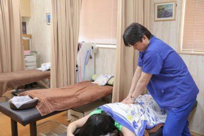いしおか整骨院でのTFR(テクニック治療)
