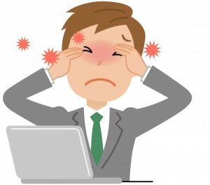 目の疲れから来る頭痛の原因は?