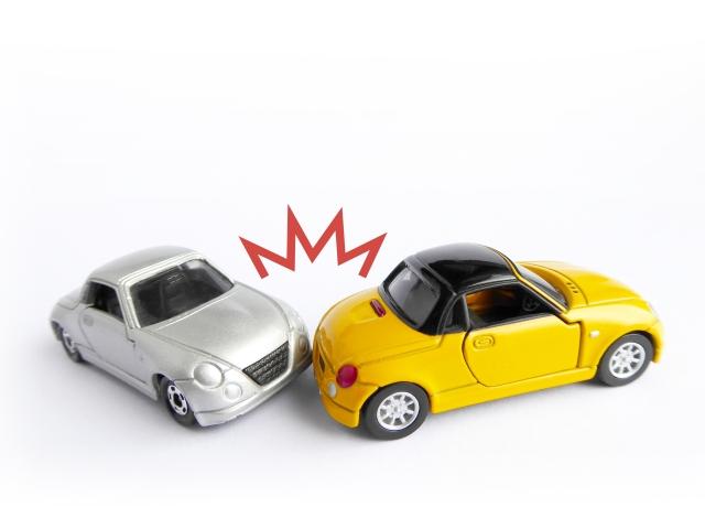胸や背中に関する交通事故でよく起きる症例